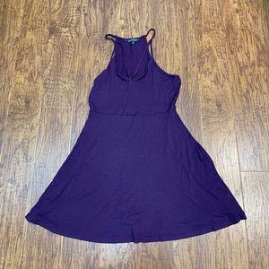 Express purple sexy sundress size medium